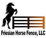 Friesian Horse Fence