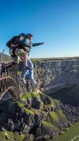 BASE Jumping Parachute