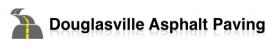Douglasville Asphalt Paving
